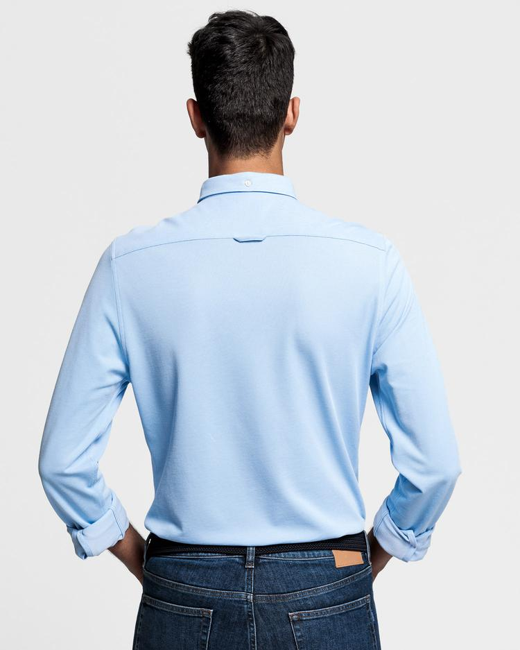 GANT Men's Pique Solid Slim Fit Shirt - 3002562