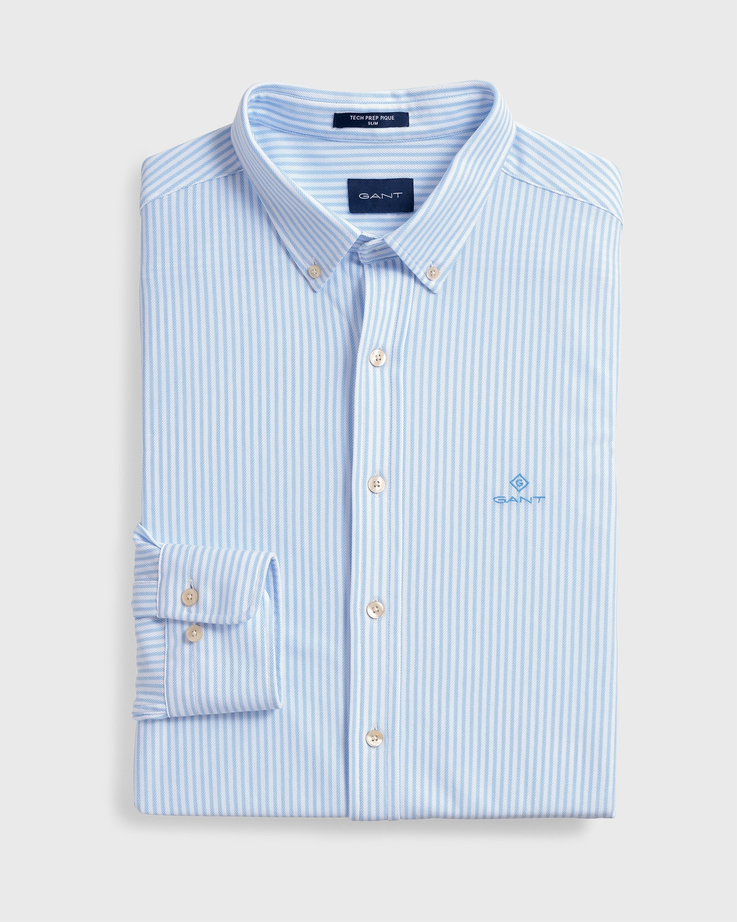 GANT Men's Stripe Slim Fit Shirt - 3003462