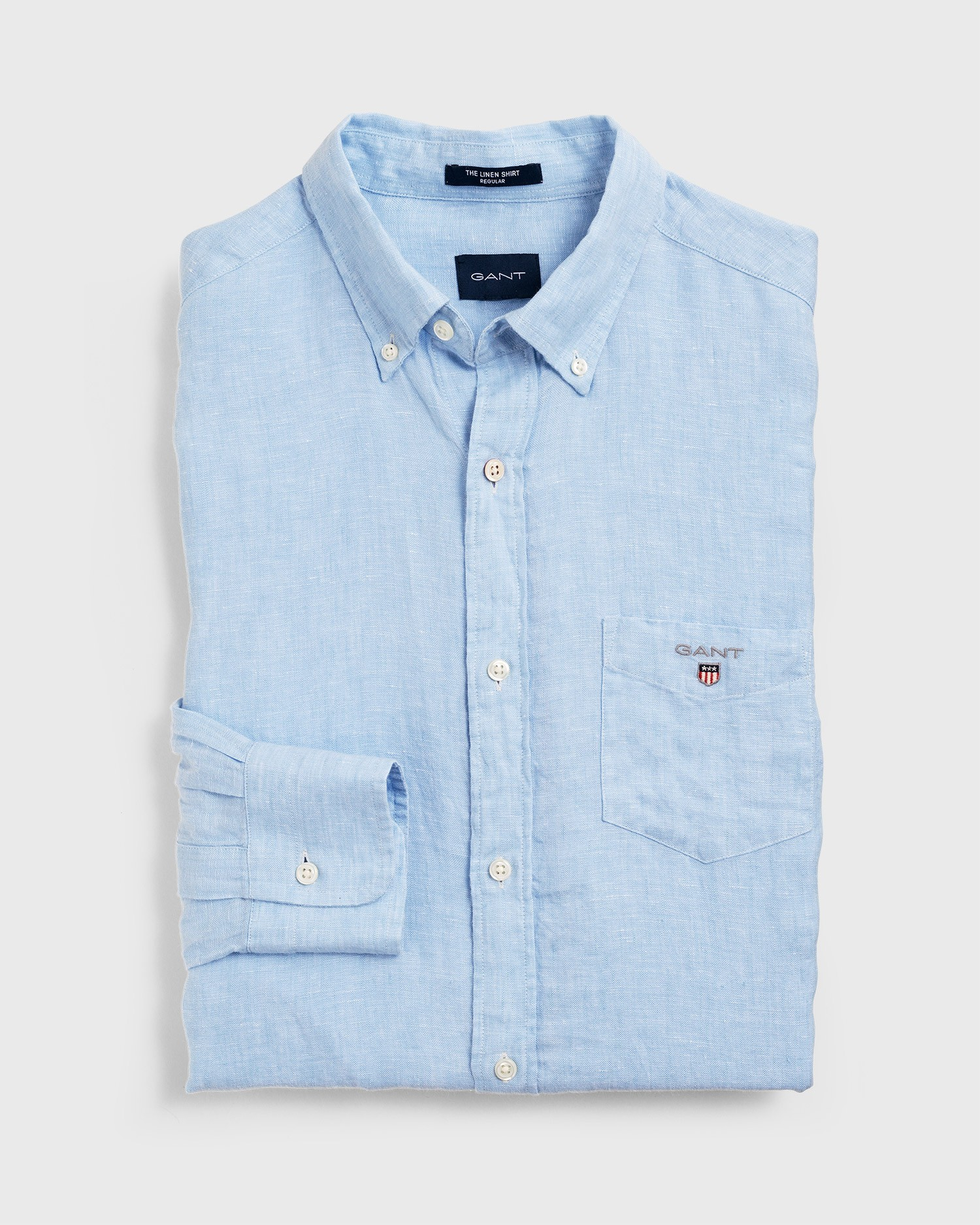 GANT Men's Linen Regular Fit Shirt - 3040620
