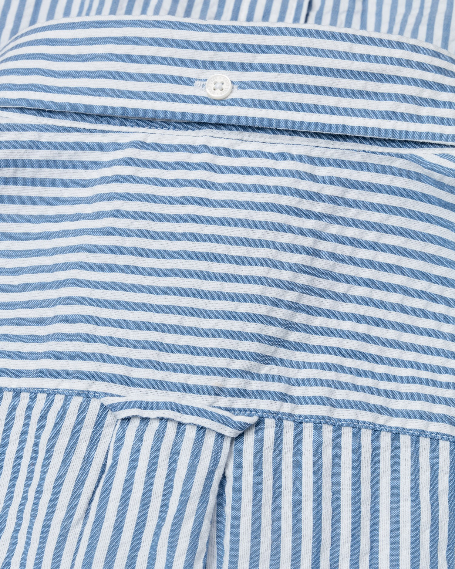 GANT Men's Blue Regular Fit Tech Prep Striped Shirt - 3014530