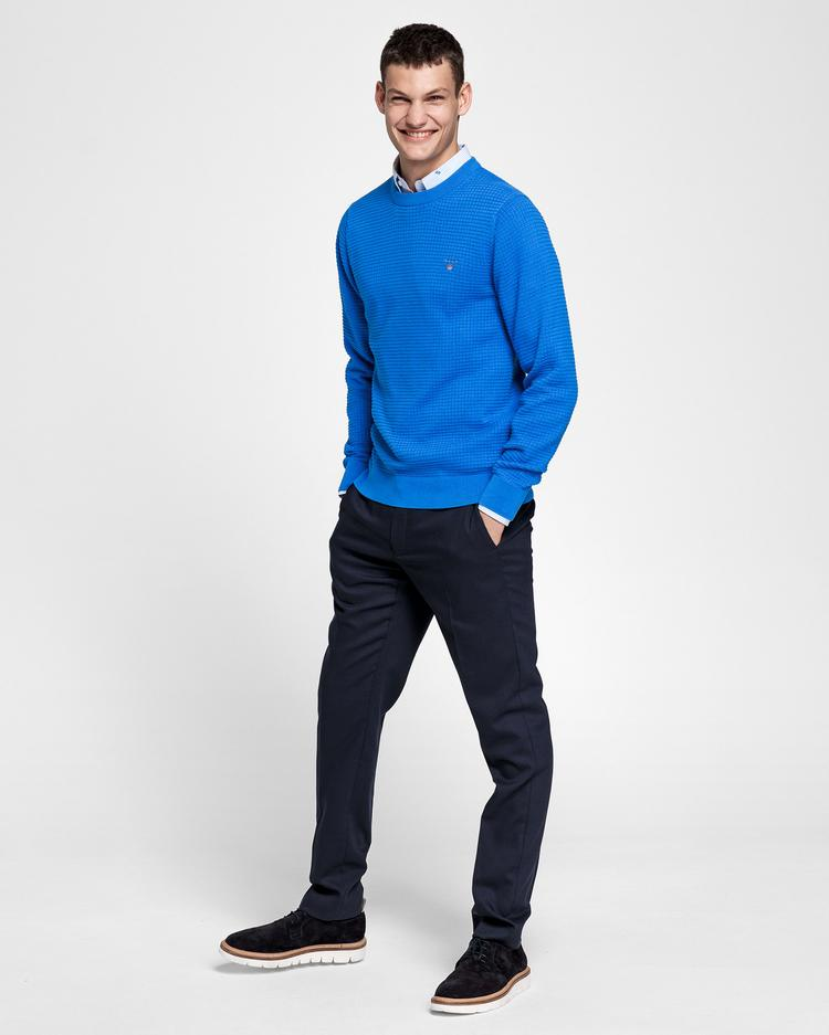 GANT Men's Cotton Textured Sweater - 8030043
