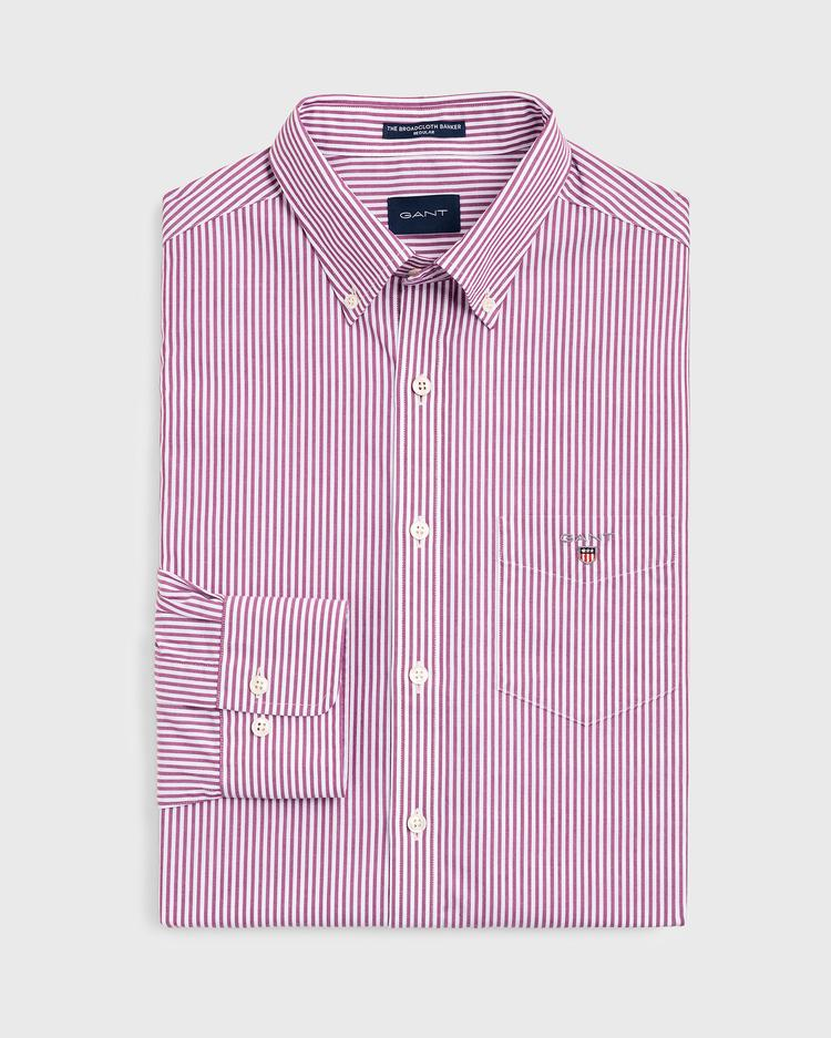GANT Men's Broadcloth Banker Regular Fit Shirt - 3046500