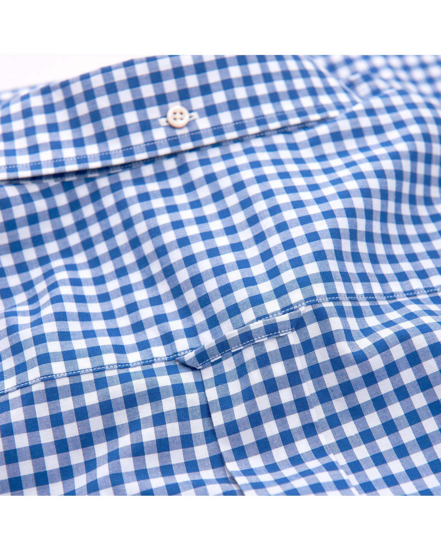 GANT Koszula Męska The Broadcloth Gingham Regular - 3046700