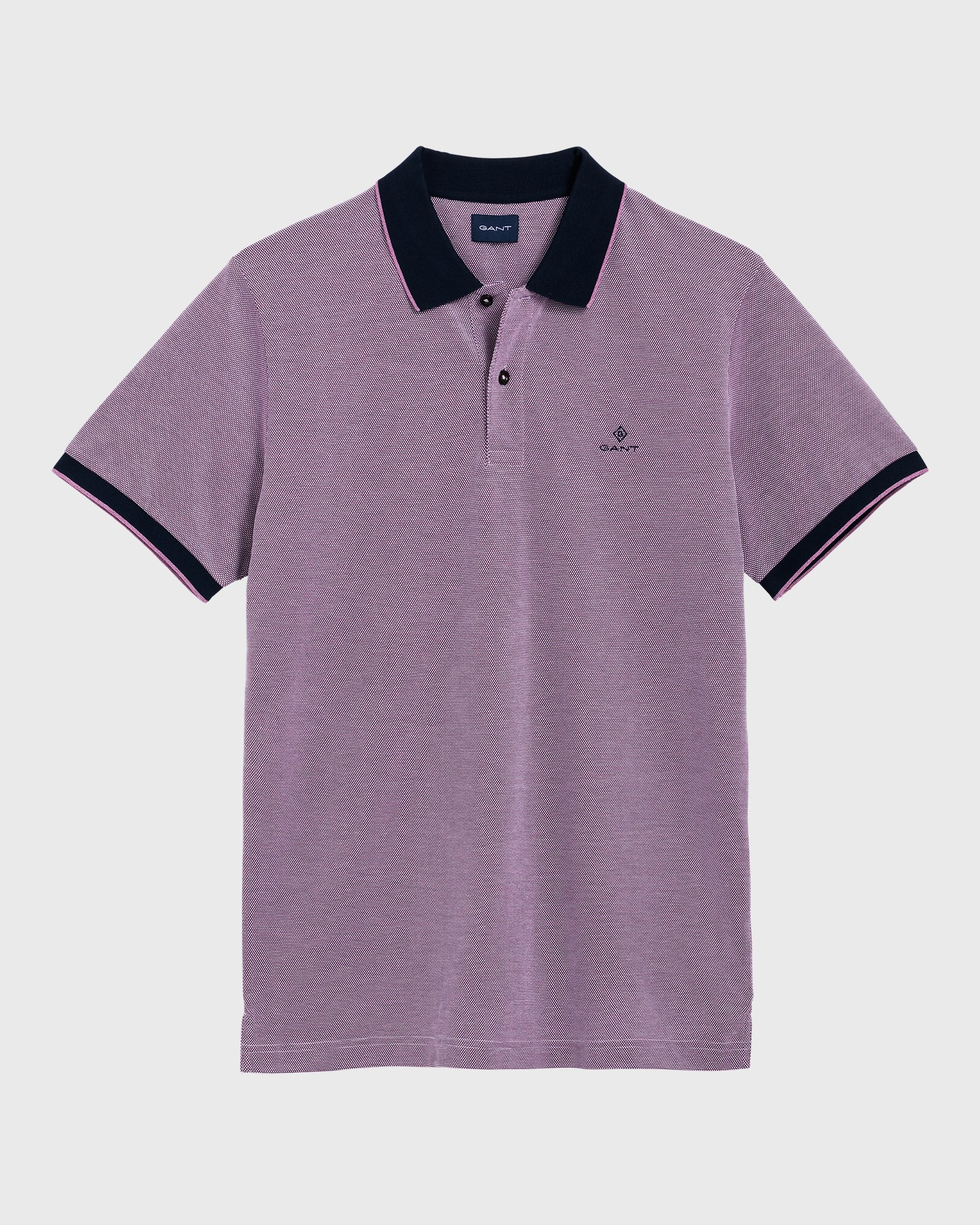 GANT Erkek Mor Regular Fit Pique Rugger Polo - 2012012