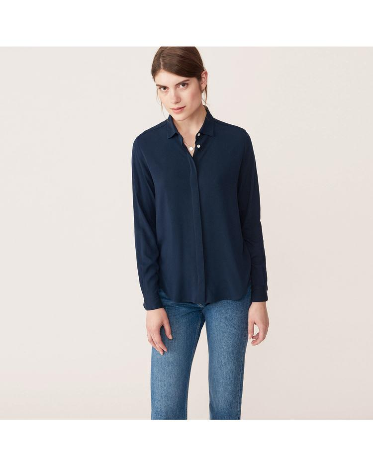GANT Women's Featherweight Twill Blouse - 432565