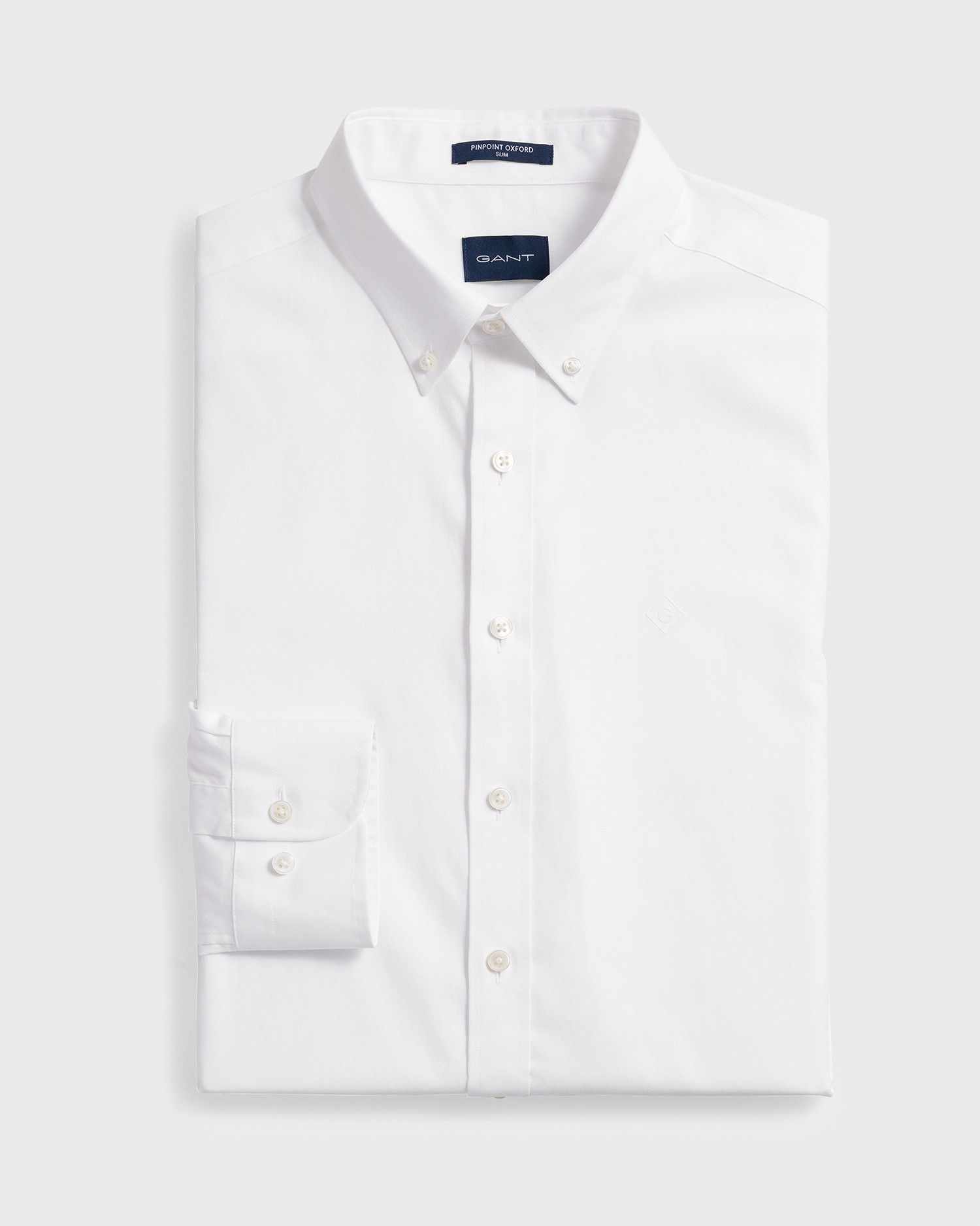 GANT Men's Pinpoint Oxford Slim Fit Shirt - 303002
