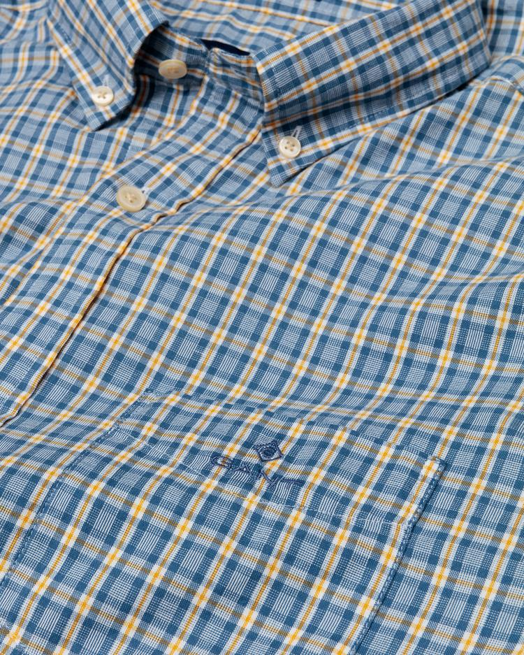GANT Men's Windblown Oxford Check Regular Fit Shirt - 3016430