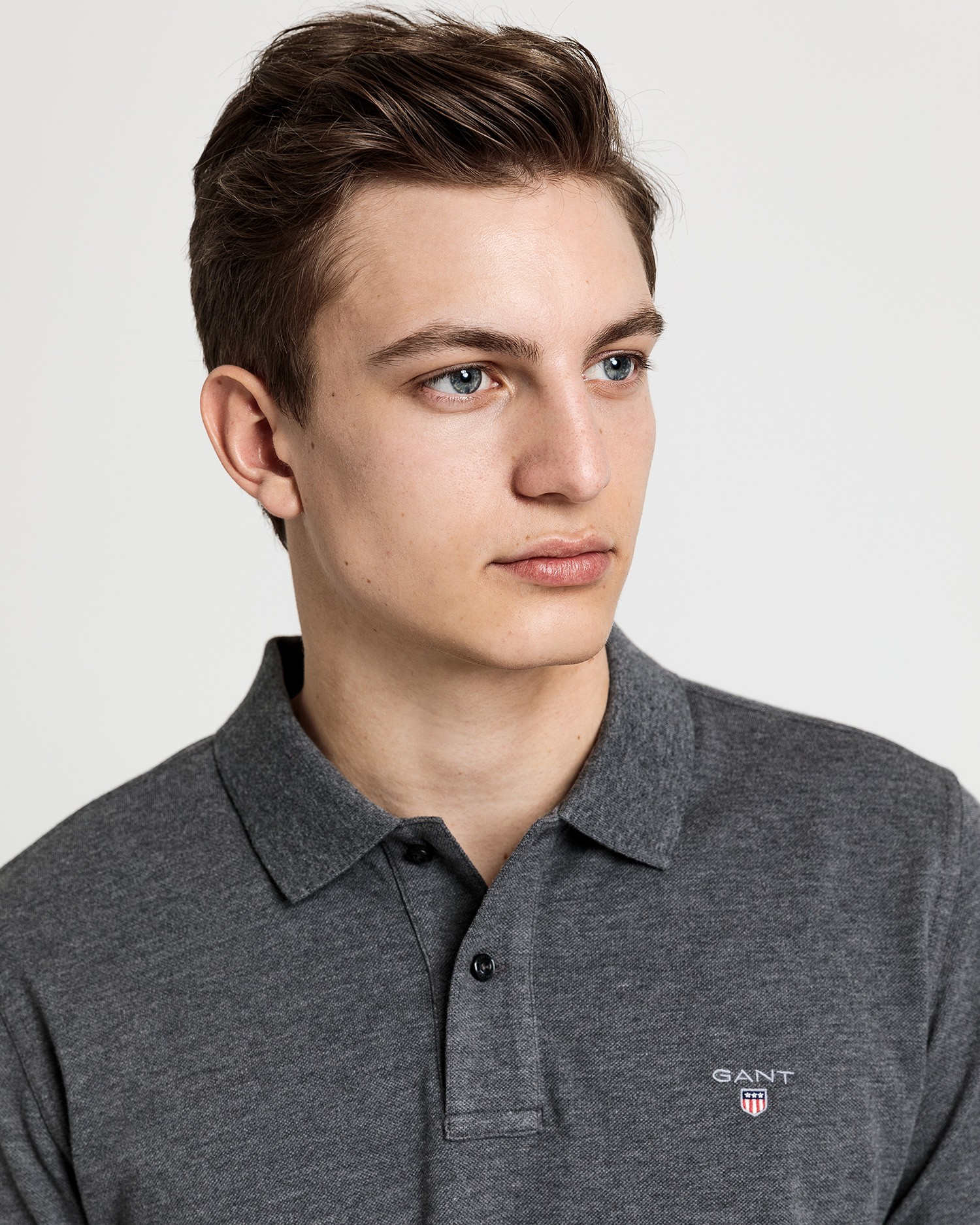 GANT Men's Solid Pique Rugger Polo - 5201