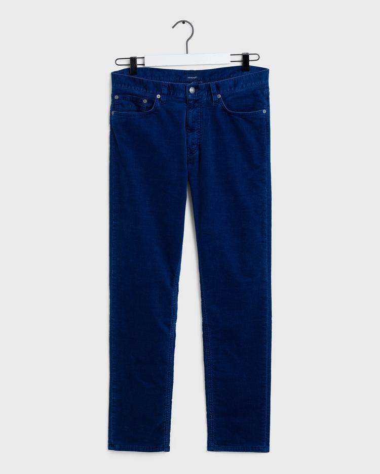 GANT Men's 5 Pocket Slim Cord Jeans - 1000188