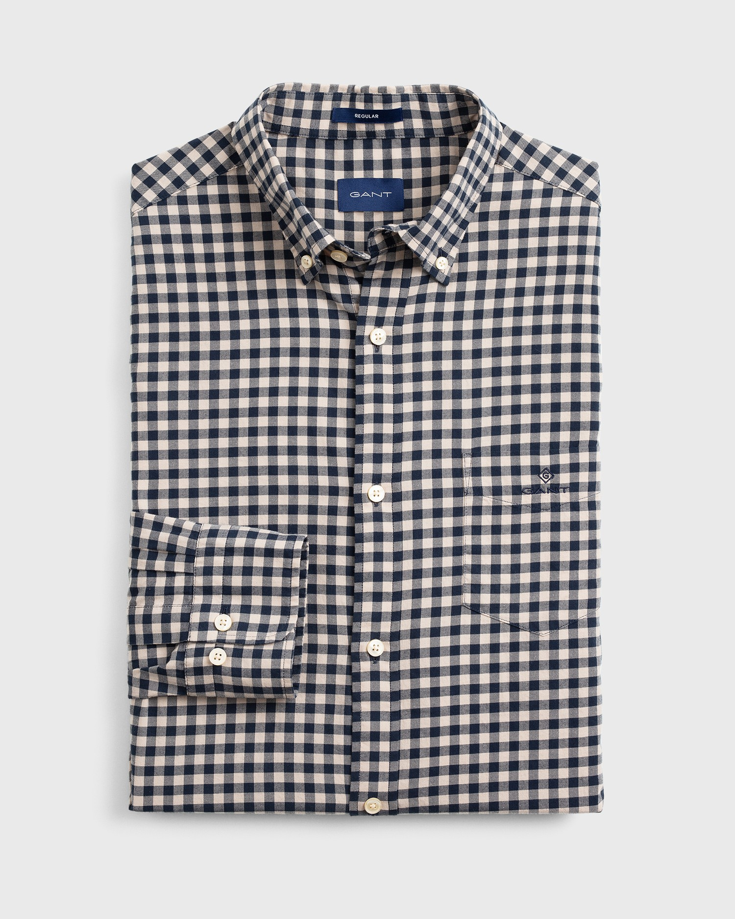 GANT Men's Buffalo Check Regular Fit Shirt - 3011230