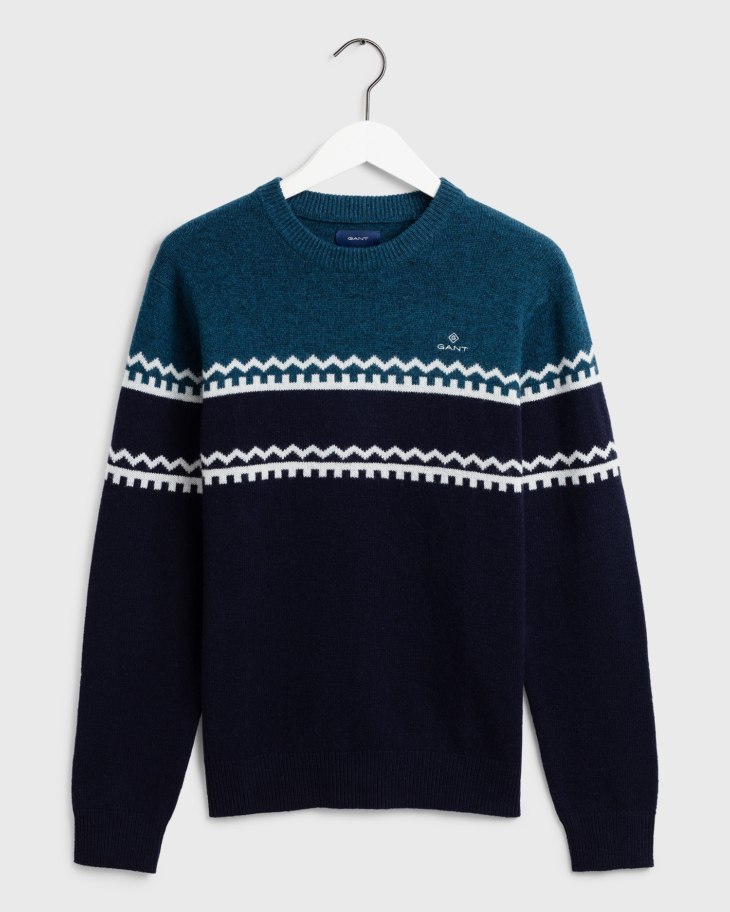 GANT Men's Holiday Stripe Sweater - 8010033