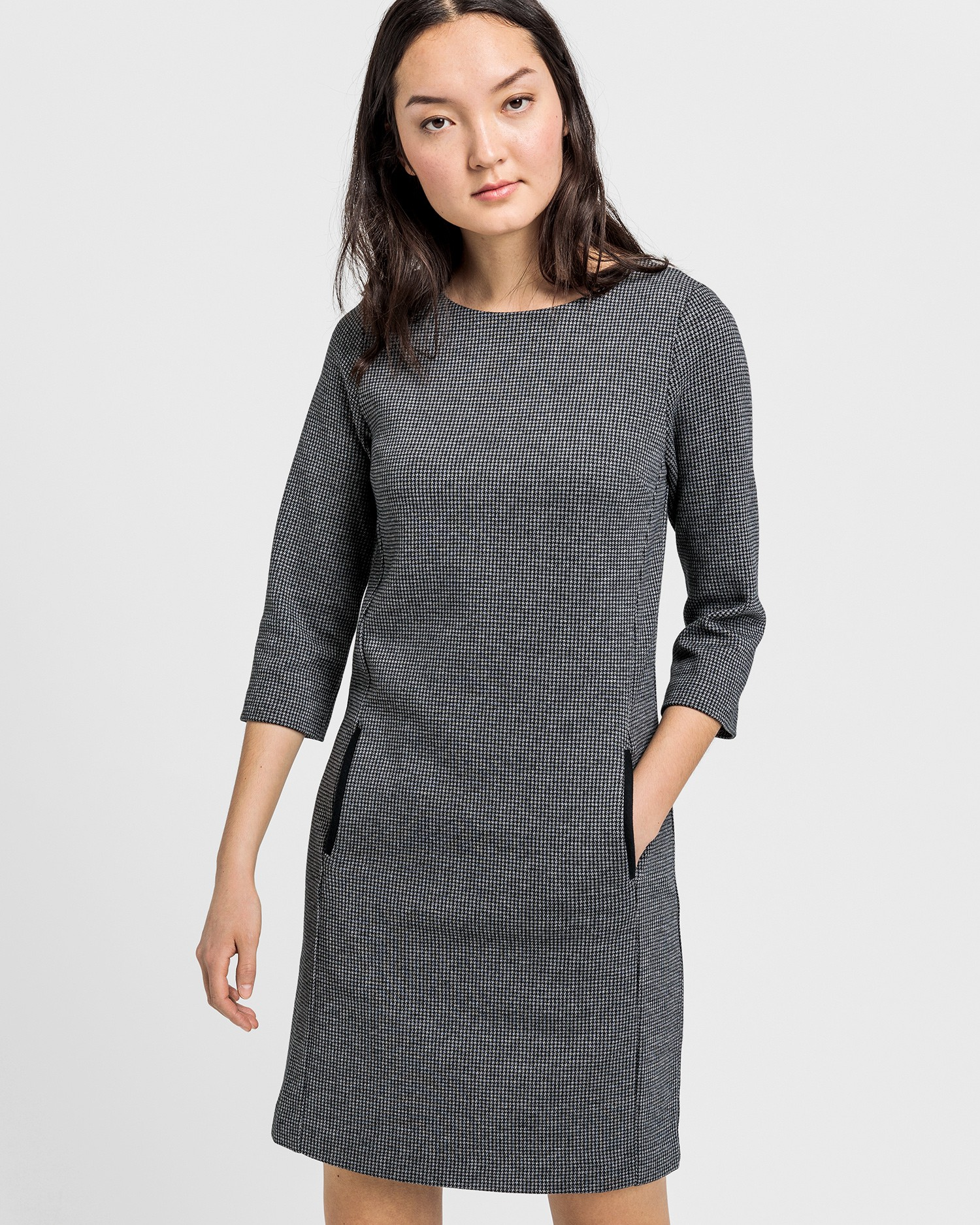GANT Women's Dogtooth Jersey Dress - 4501050