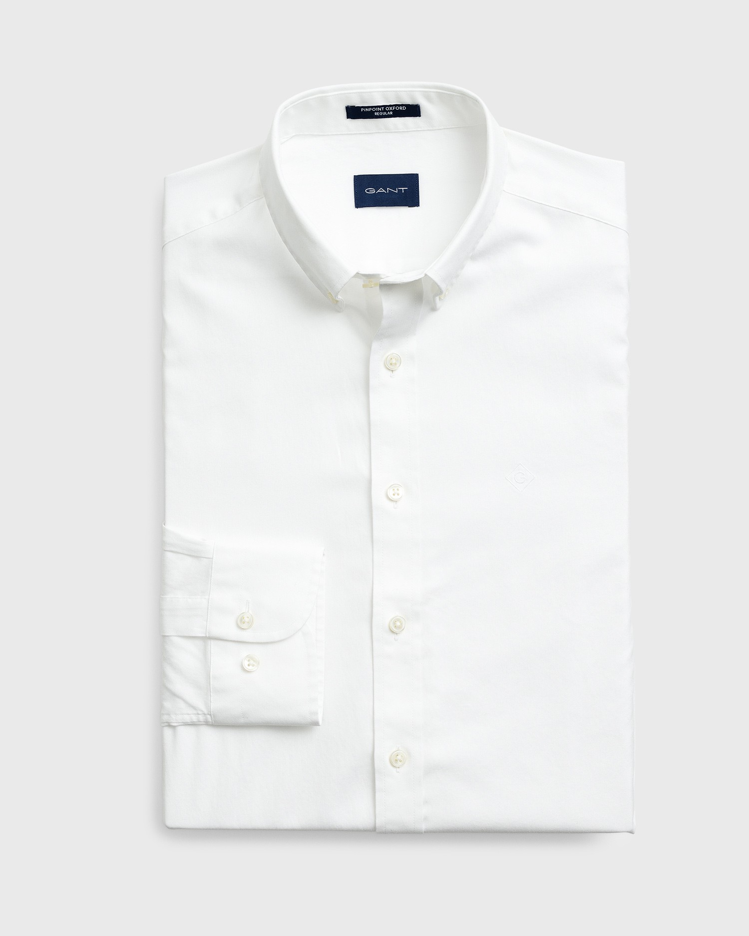 GANT Men's Pinpoint Oxford Regular Fit Shirt - 303000