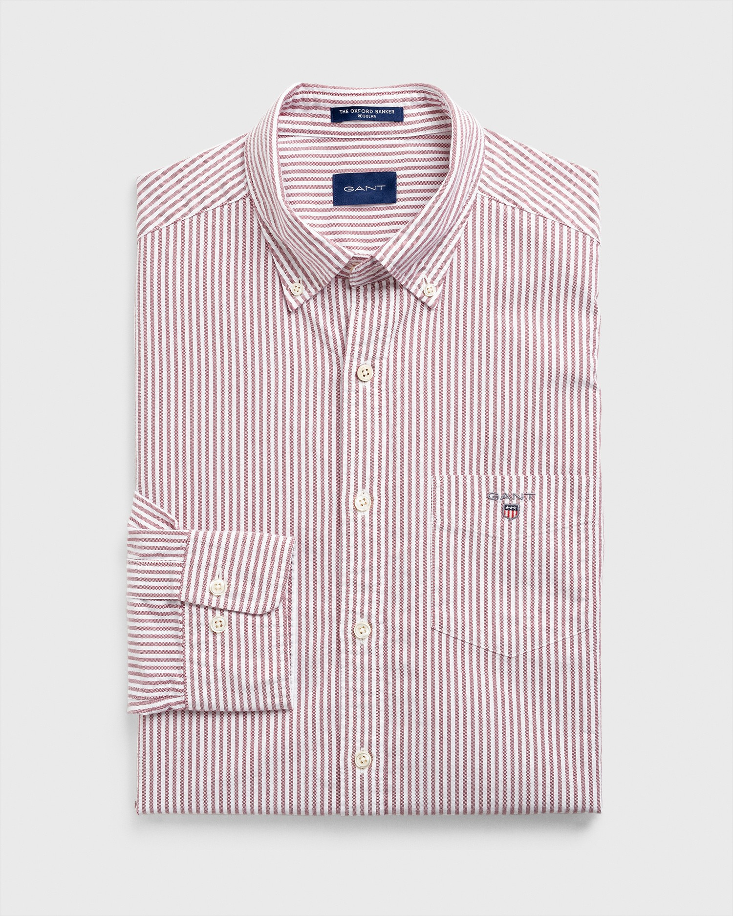 GANT Men's Oxford Banker Regular Fit Shirt - 3056700