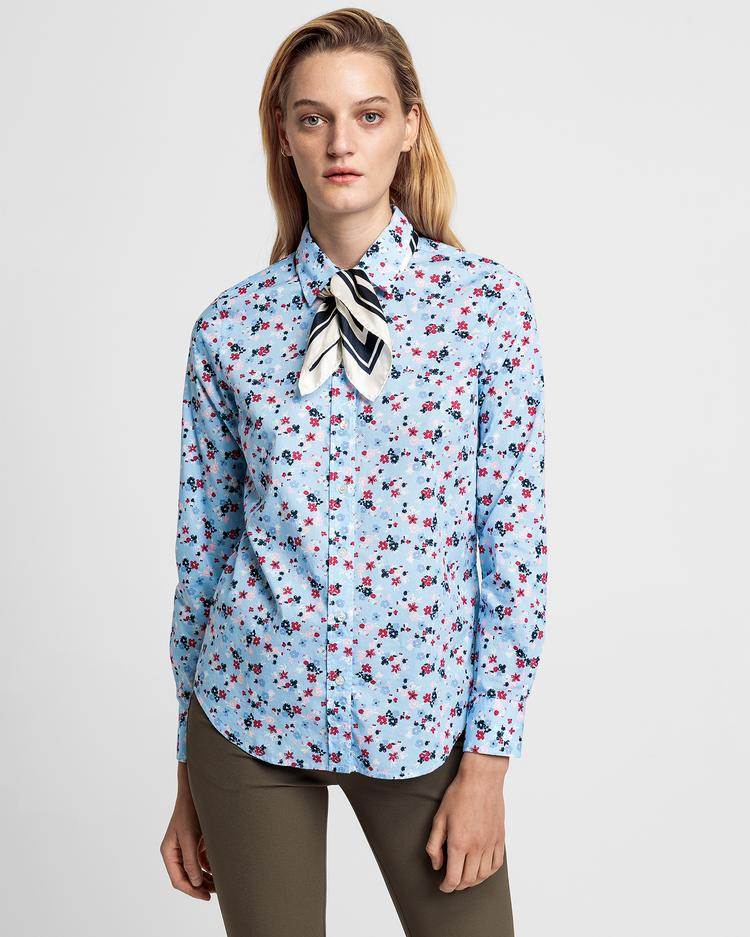 GANT Women's Scribbled Floral Stretch Shirt - 4320103