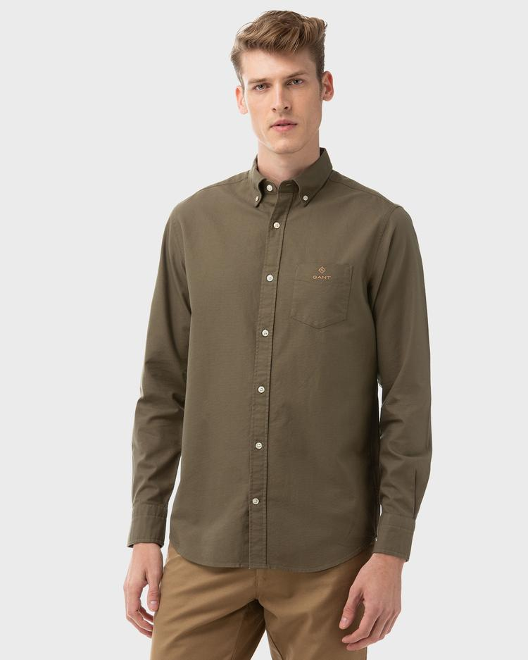 GANT Men's Beefy Oxford Regular Fit Shirt - 3007470