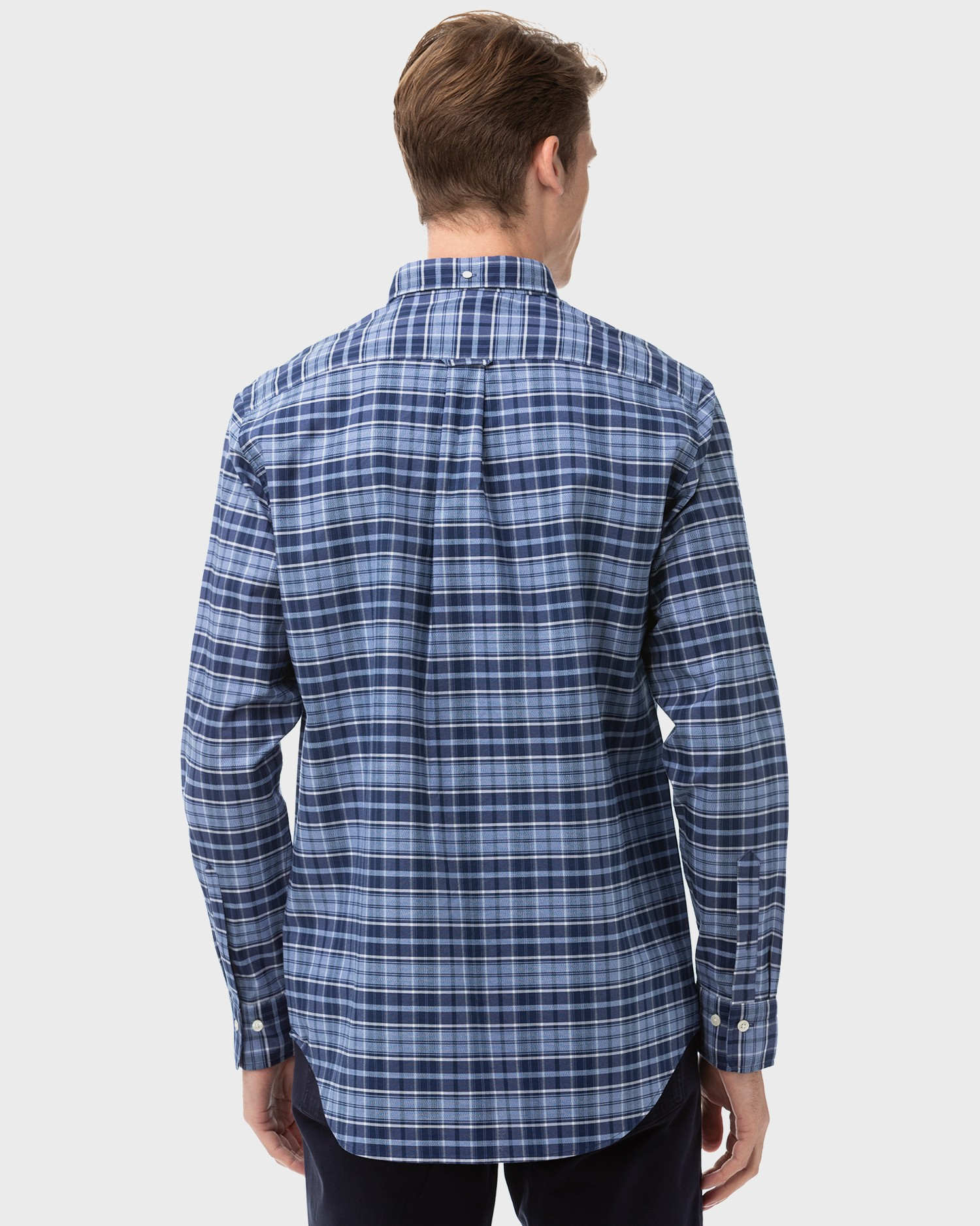 GANT Men's Oxford Check Regular Fit Shirt - 3058200
