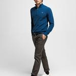GANT Men's Cotton Pique Half Zip Sweater - 80023