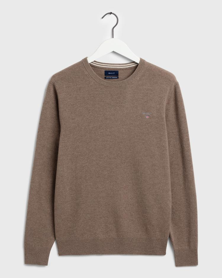GANT Men's Super Fine Lambswool Sweater - 86211