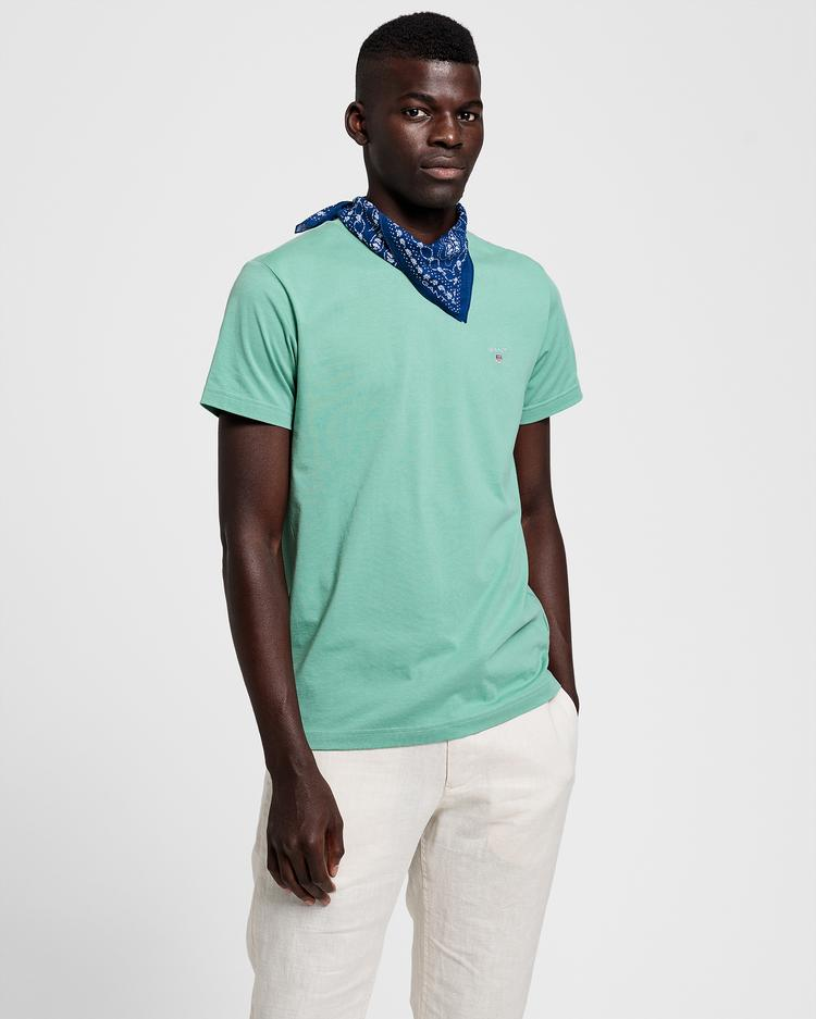 GANT męski T-shirt Regular Fit - 234100