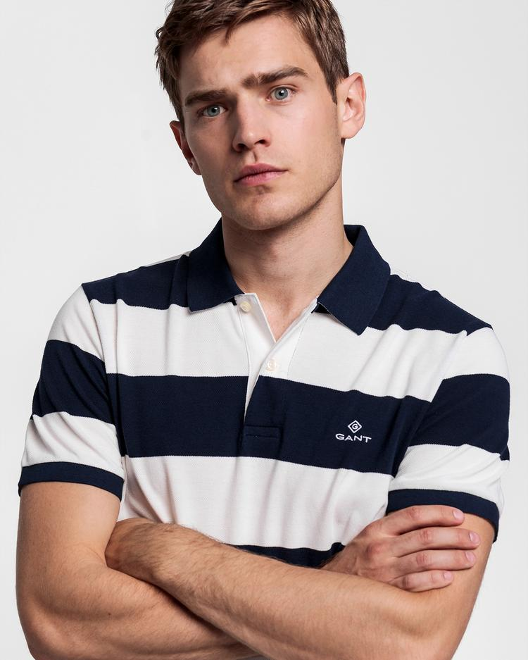 GANT Men's Cream Regular Fit Polo - 2022001