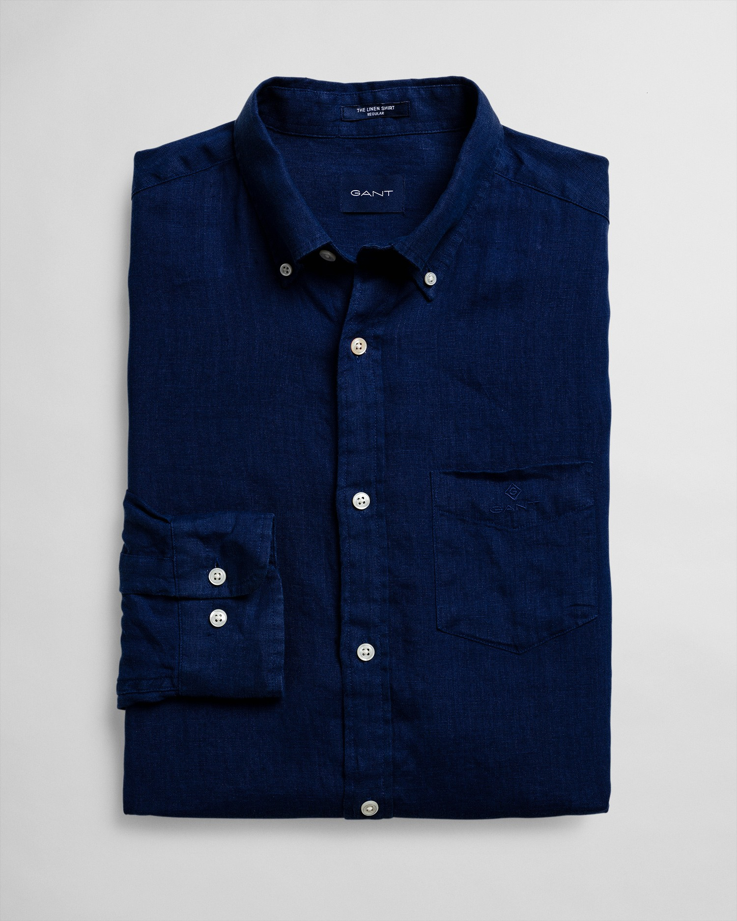 GANT Men's Regular Fit Linen Shirt - 3012420