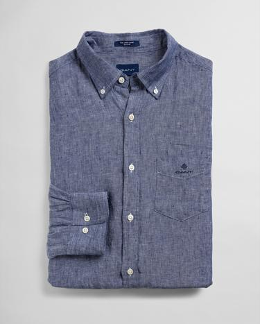 GANT Men's Linen Regular Fit Shirt - 3012420