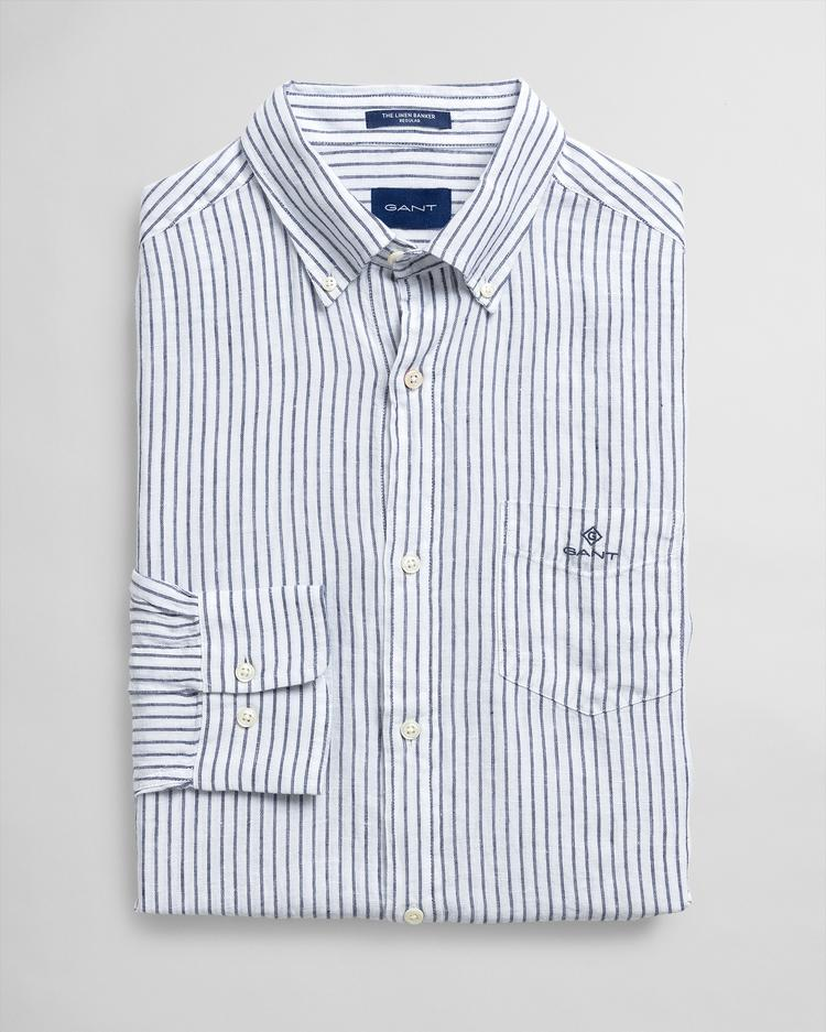 GANT Men's Regular Fit Linen Shirt - 3012520