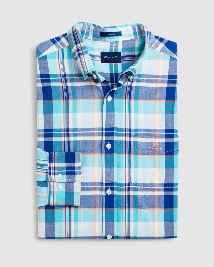GANT Men's Checked Shirt Regular Fit - 3013420