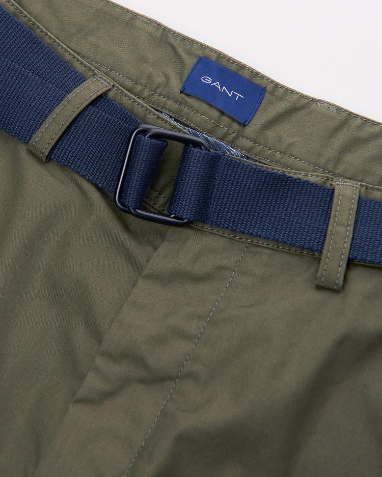GANT Men's Relaxed Belted Utility Shorts - 20014