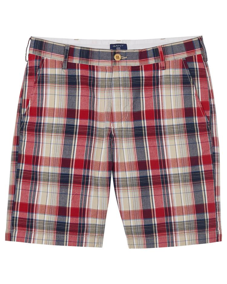 GANT Men's Regular Madras Shorts - 21670