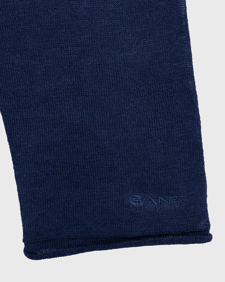 GANT Women's Fine Knit Linen Vneck Sweater - 4801108