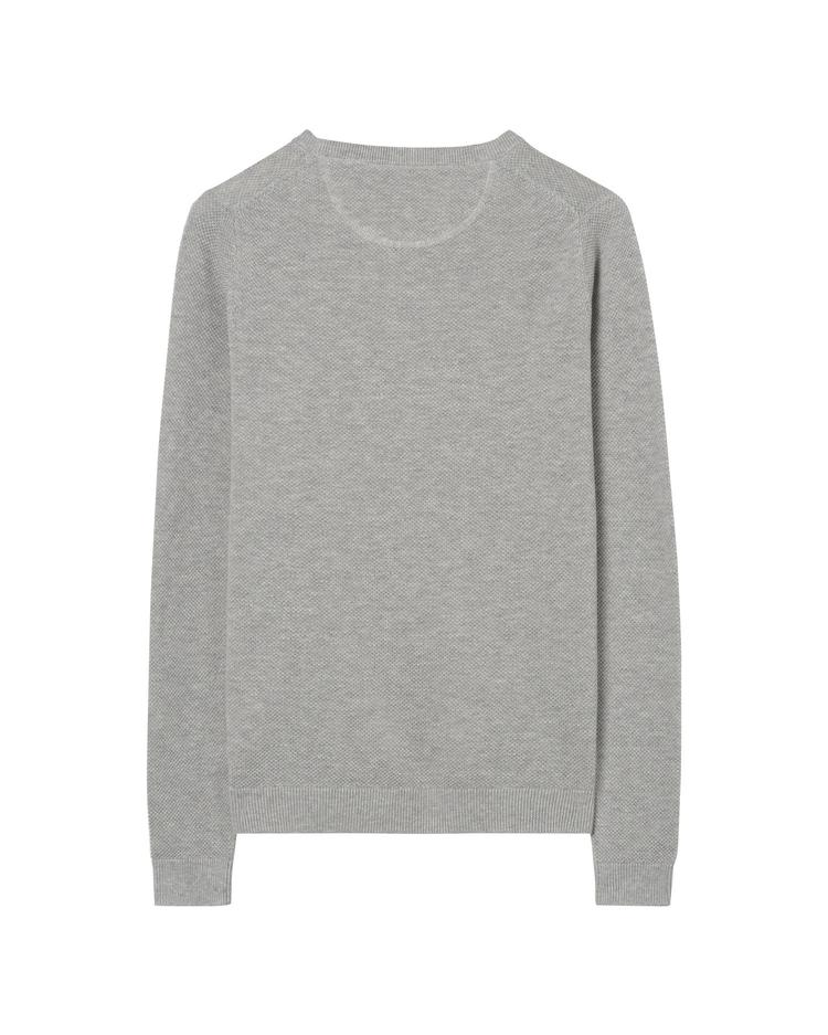 GANT Women's Cotton Pique Crew Sweater - 480031