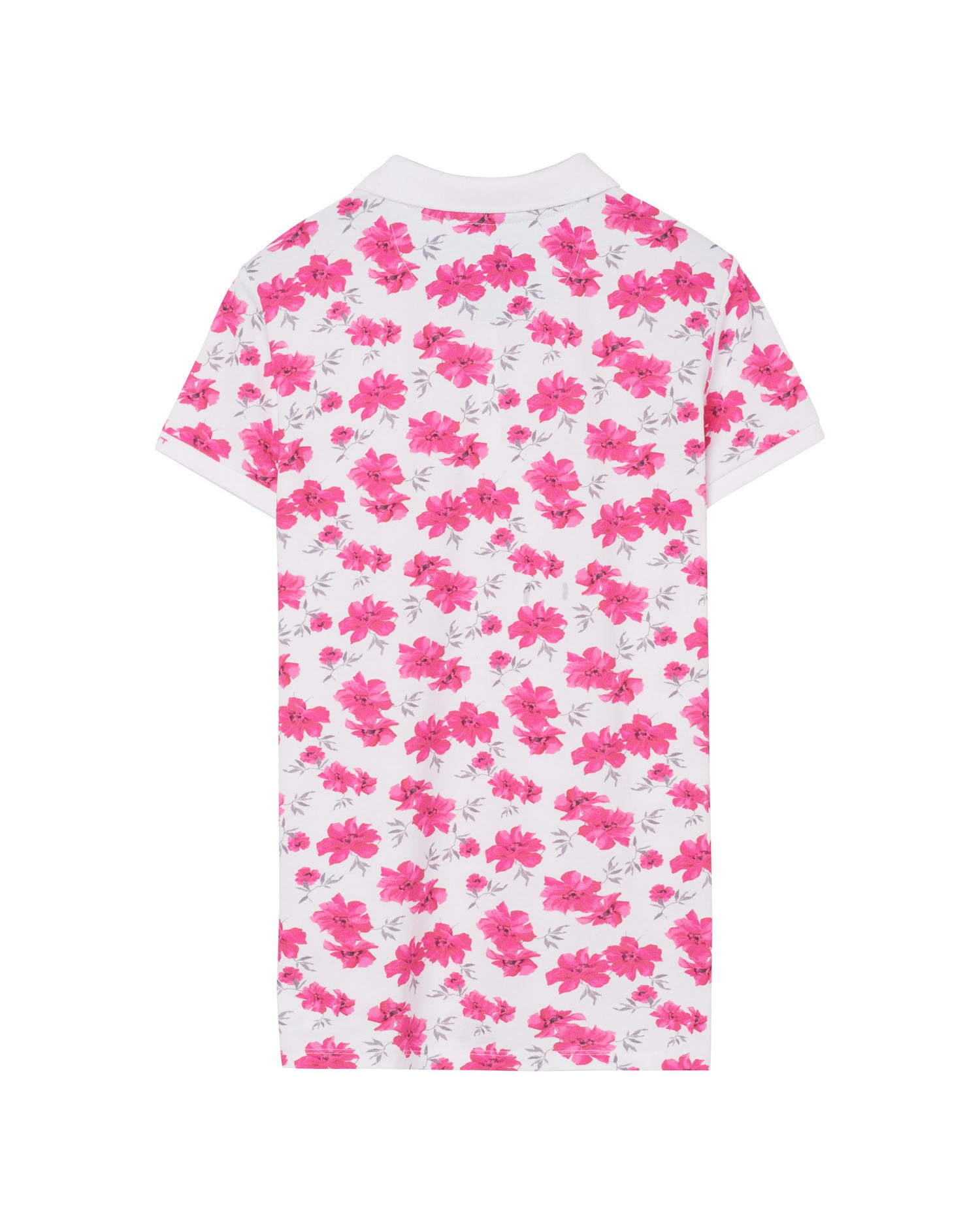 GANT Women's island Flower Pique Short Sleeve Polo - 405201