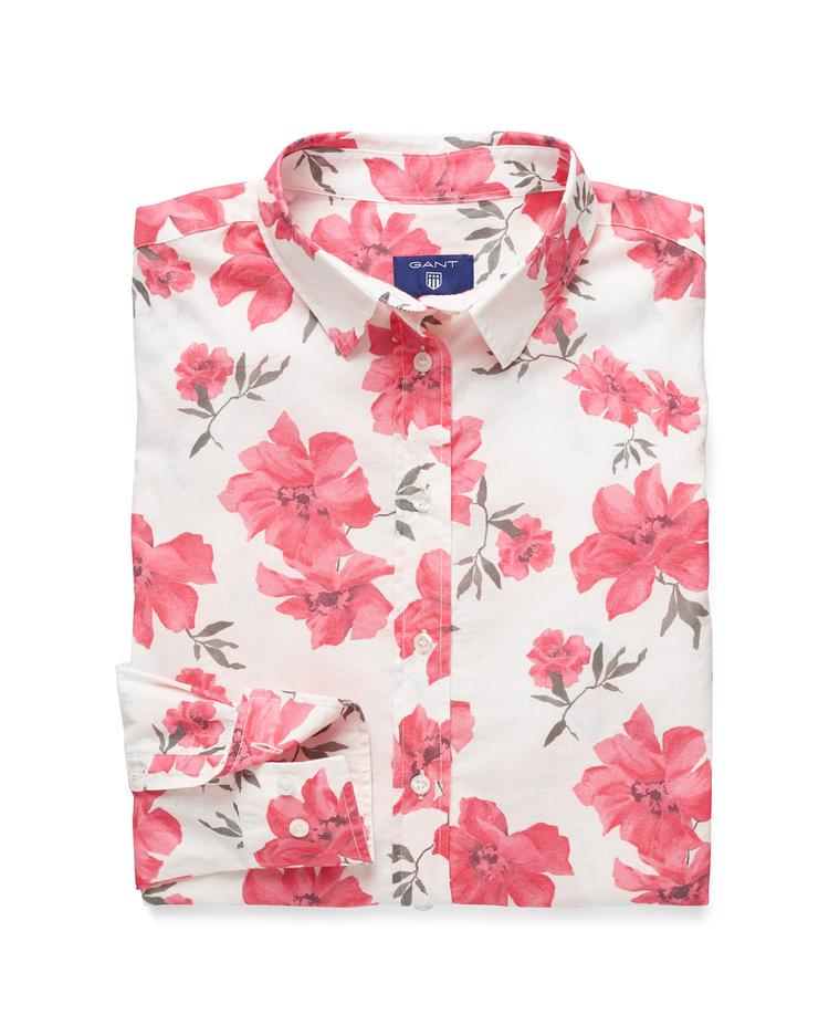 GANT Women's Voile Island Flower Shirt - 432695
