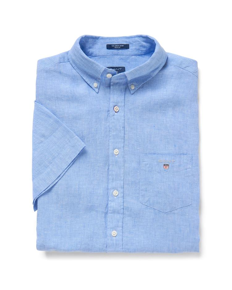 GANT Men's Linen Regular Fit Shirt - 3040621