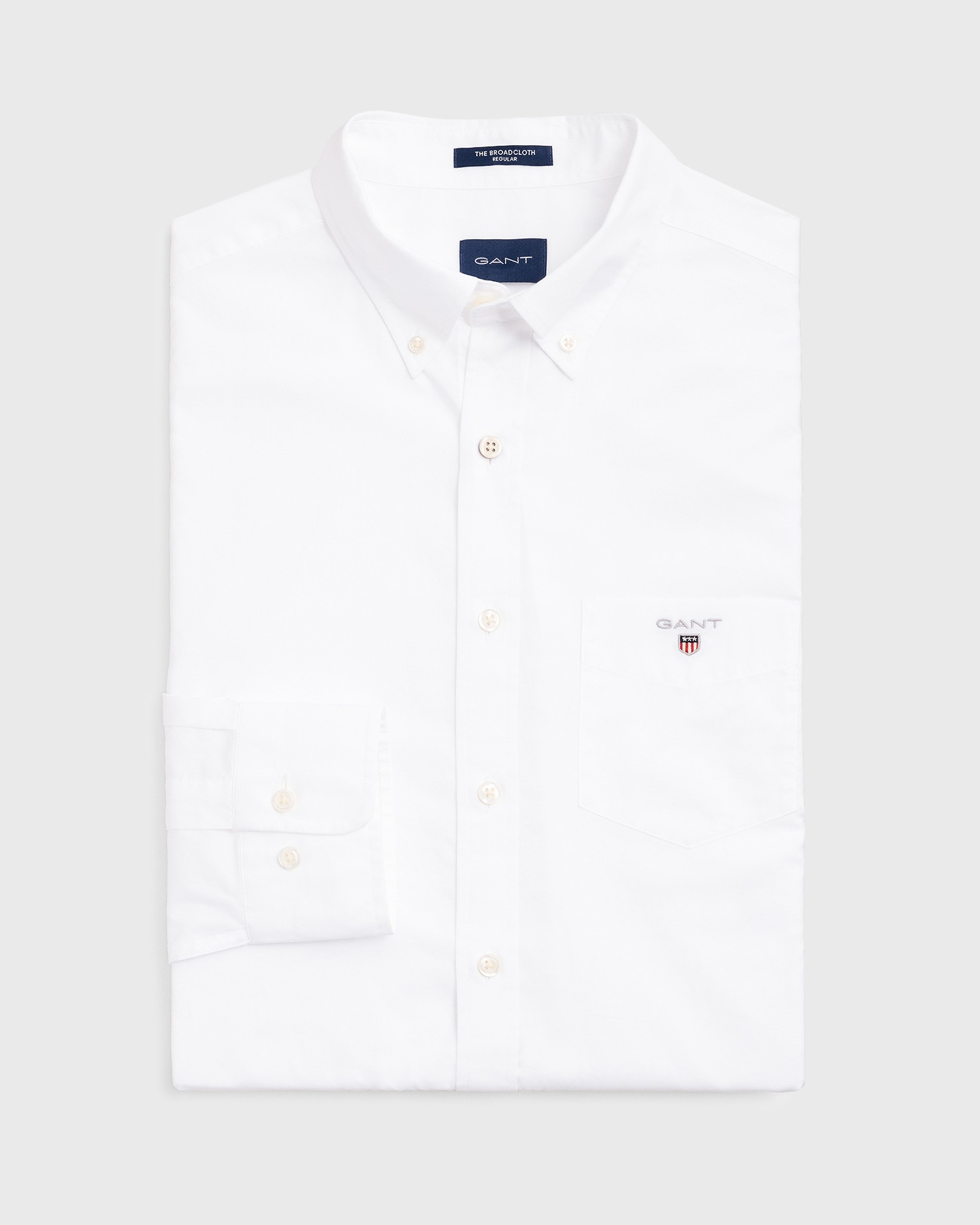 GANT Men's The Broadcloth Regular Fit Broadcloth Shirts - 3046400