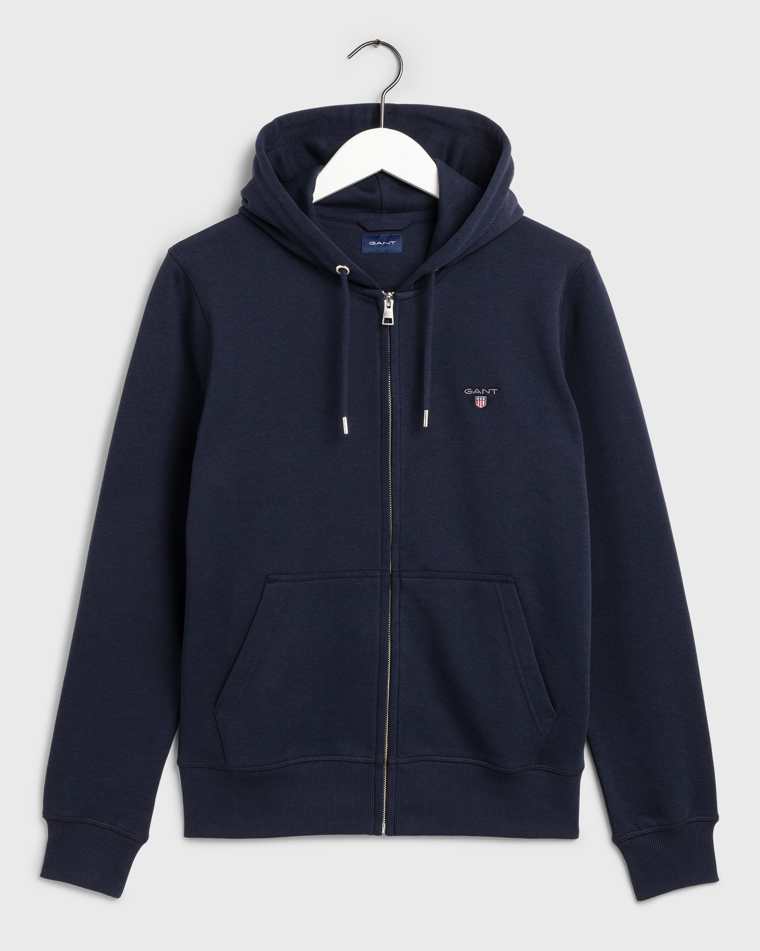 GANT Men's The Original Full Zip Hoodie - 2046011