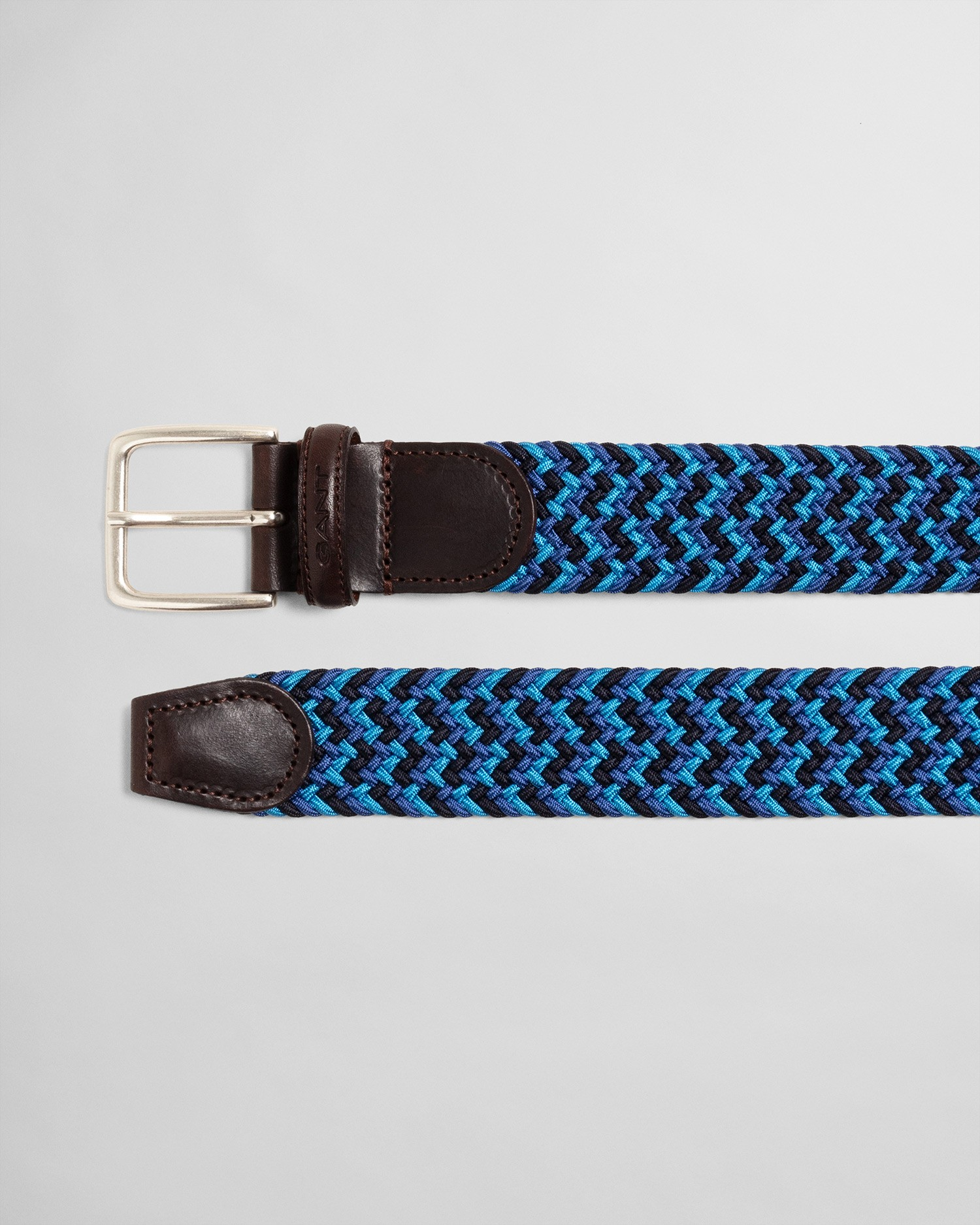 GANT Unisex Patterned Elastic Braid Belt - 9940016