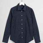GANT Women's Fairly Dot Stretch Bc Shirt - 4322037