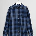 GANT Men's Double Flannel Regular Fit Broadcloth Shirts - 3017520