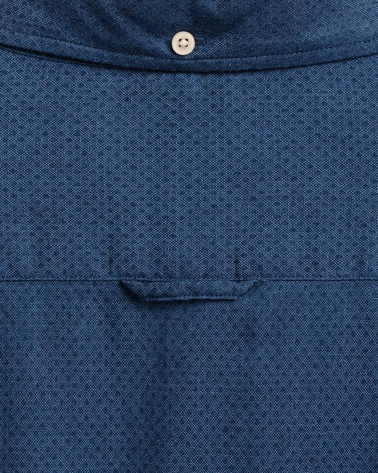 GANT Men's Tp indigo Dobby Slim Fit Broadcloth Shirts - 3029632