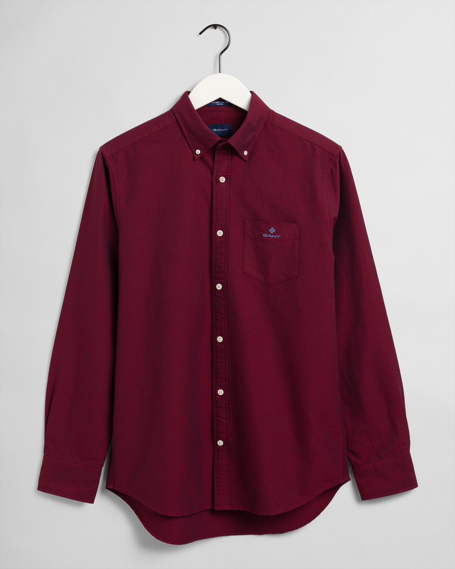 GANT Men's The Beefy Oxford Shirt Regular Fit Broadcloth Shirts - 3007470