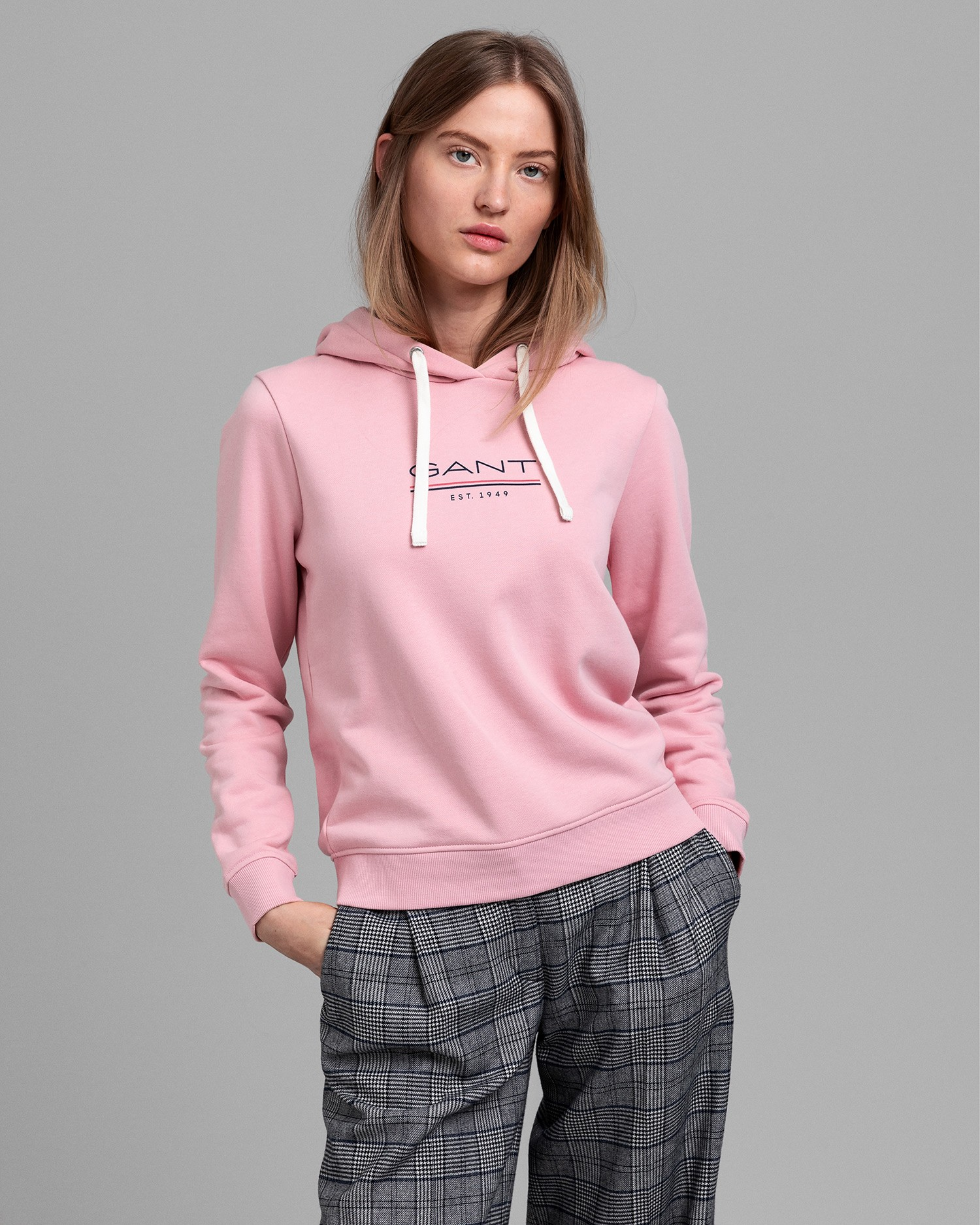 GANT Women's Md. The Fall Logo Hood Sweatshirt - 4200620