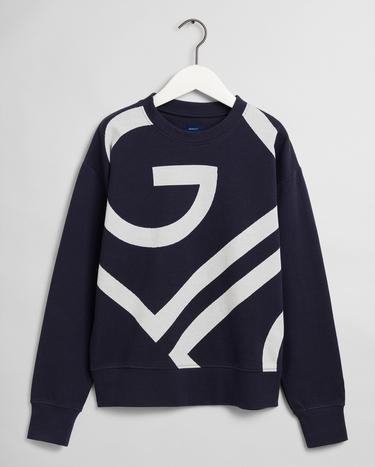 GANT Women's icon G C Neck Sweatshirt - 4204678