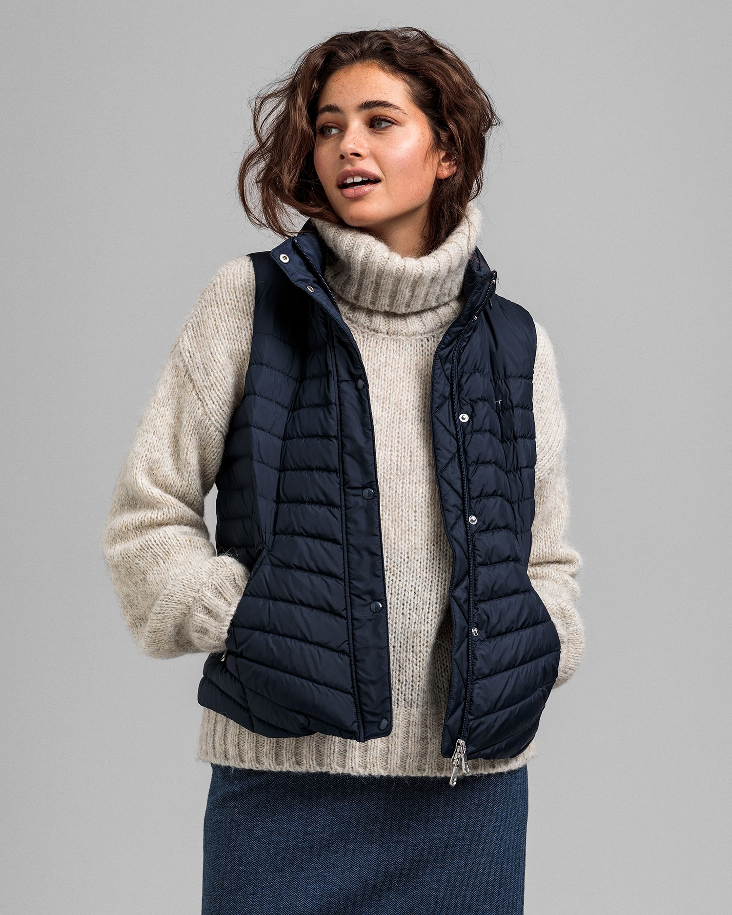 GANT Women's Light Down Gilet - 4700130