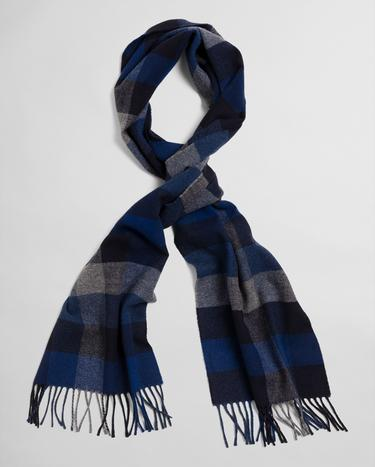 GANT Unisex Multi Check Wool Scarf - 9920133