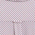 GANT Men's Tp Pique Print Regular Fit Broadcloth Shirts - 3008860