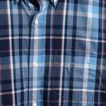 GANT Men's Tp indigo Madras Regular Fit Broadcloth Shirts - 3016120