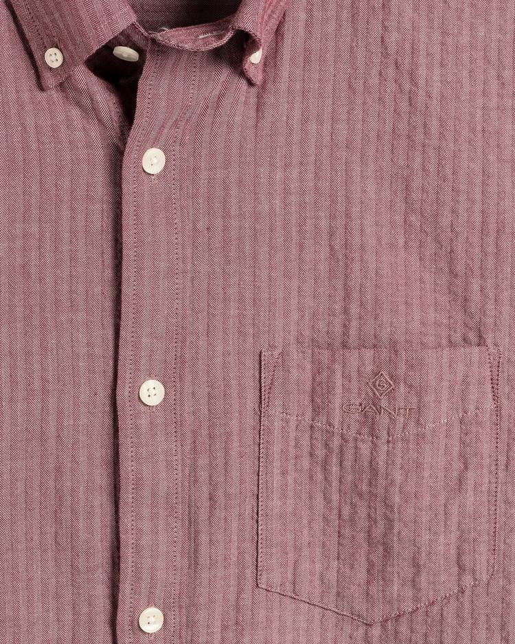 GANT Men's Seersucker Herringbone Regular Fit Broadcloth Shirts - 3016620